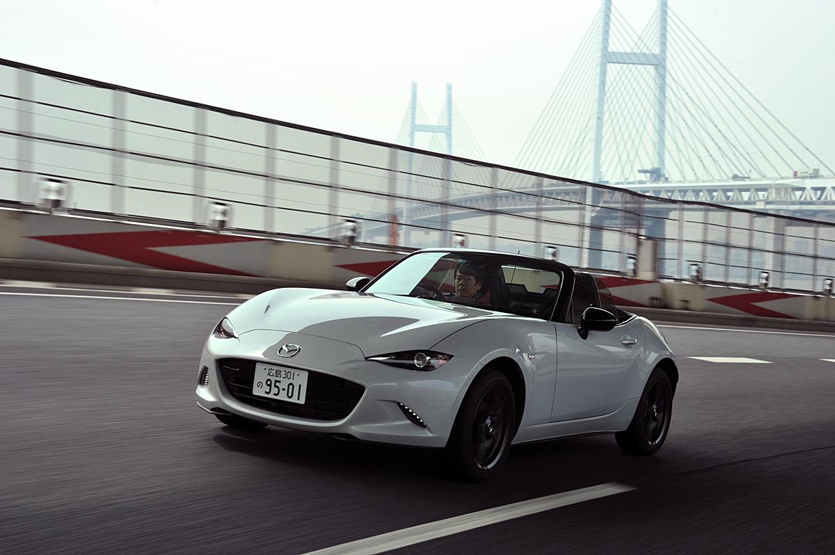 Ã�ツダ新型ロードスター公道試乗・249万4800円から3グレード5タイプを設定 Web Cartop