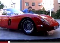 [動画]フェラーリ250GTOを洗車中に衝撃の巨人が……