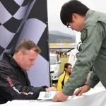 【画像】トミ・マキネンがTOYOTA GAZOO Racing FESTIVALに登場!