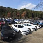 200台以上の「スカイラインだらけ」で嵐山を占拠!