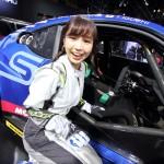 【画像】グラビアやラジオDJで人気急上昇の夏江(かえ)ちゃんの「車大好き」レポート!