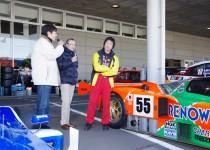 [XaCARブログ] ルマン優勝、日の丸マシン787Bがメガウェブ・フェスタで走った!
