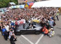 世界一のクルマとなったマツダ・ロードスターのオーナーミーティング開催!