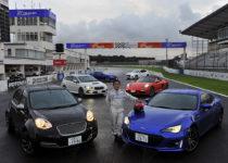 【ムービー】レヴォーグSTI Sport/ポルシェ・ボクスターなど総勢6台が雨の筑波で全開!