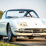 【激レア】ランボルギーニの処女作「350GT」がサーキットで復活!