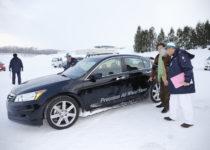 [XaCARブログ] ホンダの新兵器を雪道で試した