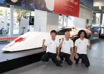 軽自動車のエンジンで420km/h! ホンダの超絶マシンを一般公開中