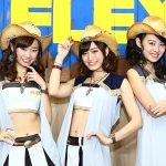 【大阪オートメッセ2017】超キュート! FLEXのキャンギャル画像part1