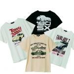 【画像】【トヨタ&日産ファン必見】イオン初の名車Tシャツが爆発的ヒット