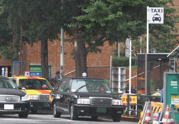 タクシーの事故