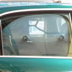 【画像】走行中の助手席横の窓へのサンシェード・カーテンなどはすべて違反!