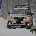 【ムービー】新型スバルXVがスキー場で激走! SUBARUゲレンデタクシー