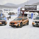 世界の新井も参戦! スキー場でリフト代わりにクルマが登るSUBARUゲレンデタクシーが凄い