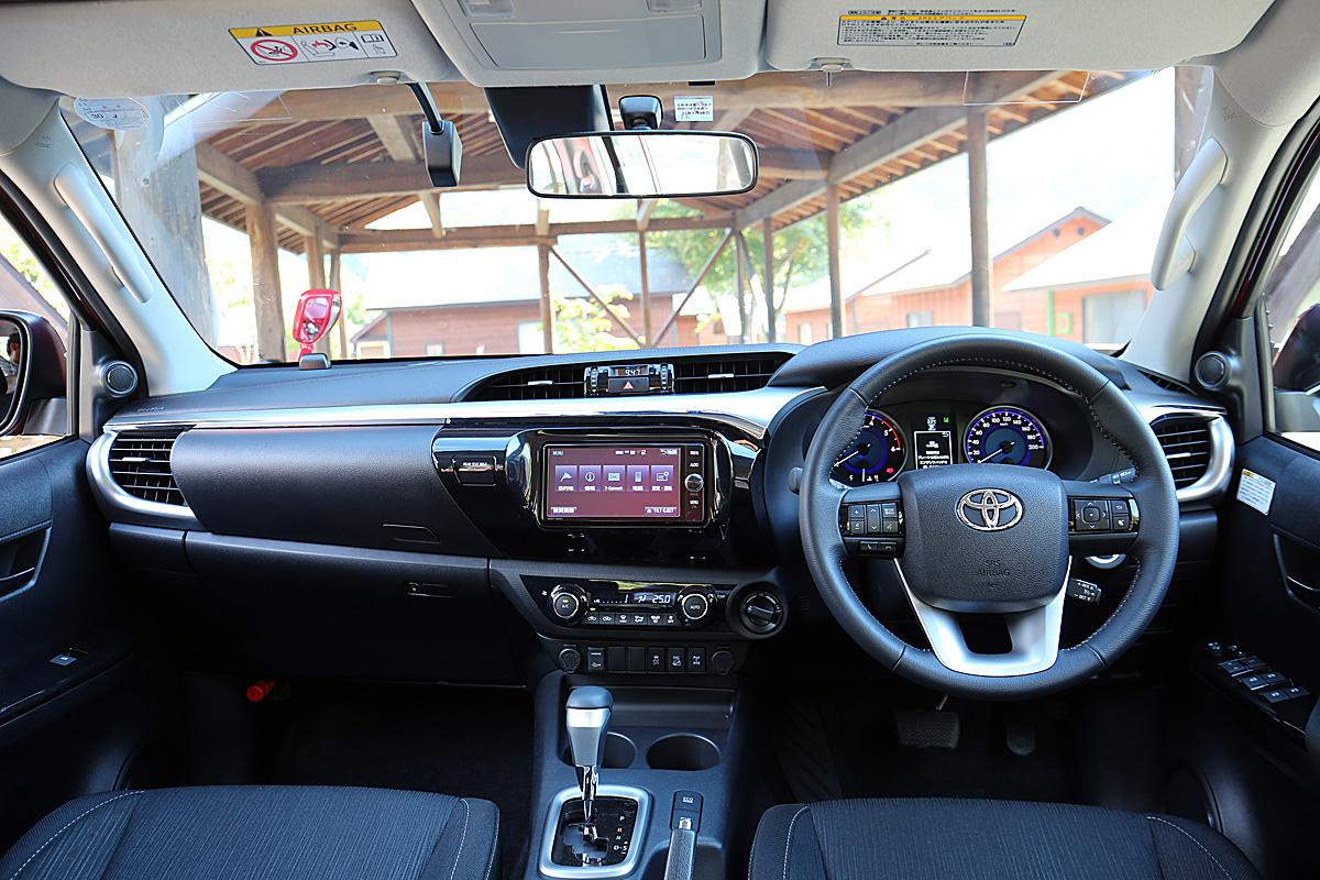 新型トヨタ・ハイラックス