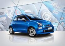 爽快なブルーは100台のみ! フィアット500に限定モデル「Mirror」が登場