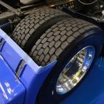 【画像】トレッド再生技術やエアレスタイヤまで! 日本の物流を支えるミシュランのトラック用タイヤに注目