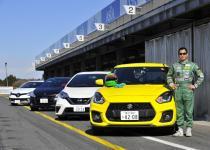 【動画】ドリキン土屋圭市がスズキ・スイフトスポーツとライバル車をガチ比較!