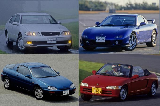 バカ売れ名車から泣かず飛ばずの迷車まで! 平成3年生まれのニッポンのクルマ7選
