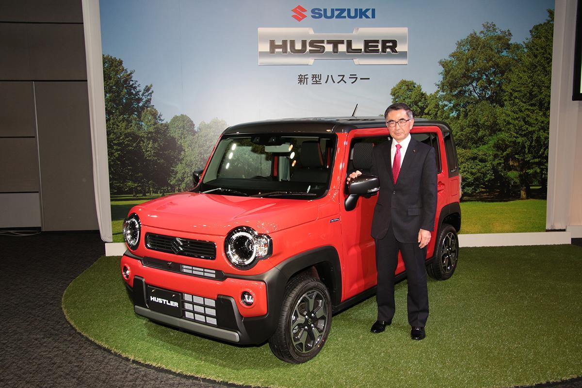 ハスラー 納車 新型