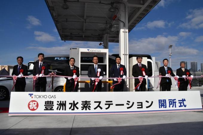 燃料電池バスにも対応! 同時に2台まで充填できる水素ステーションがオリンピックに向けて東京・豊洲にオープン