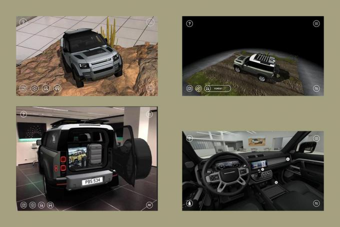 自宅にいながら新型ランドローバー・ディフェンダーの走りを疑似体験できるARアプリが配信中