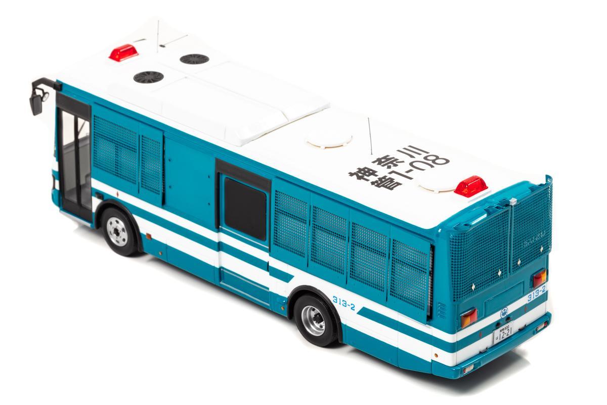 ヒコセブンから大型護送車が43分の1スケールで発売