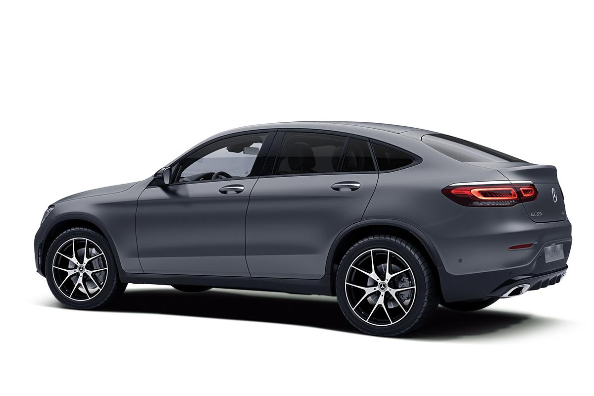 GLCクーペに特別仕様車「マグノナイトエディション」を設定し発売