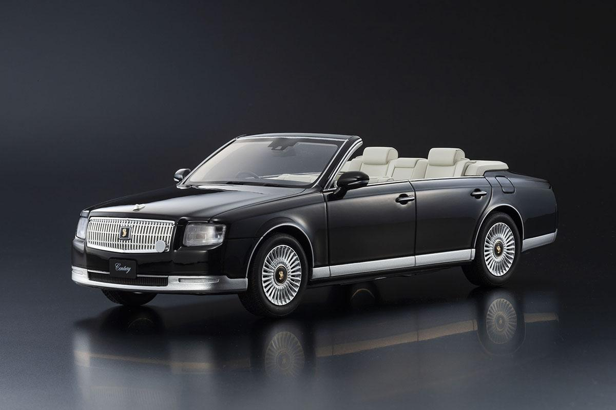 京商SAMURAI最新作! 世界に1台だけの特別な「トヨタ・センチュリー オープン」が1000台限定発売
