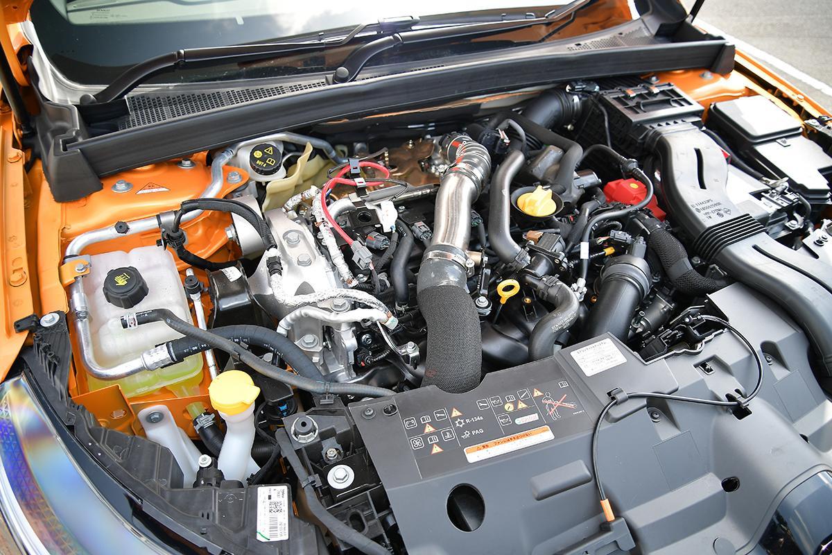 ルノー・メガーヌR.S.のエンジン