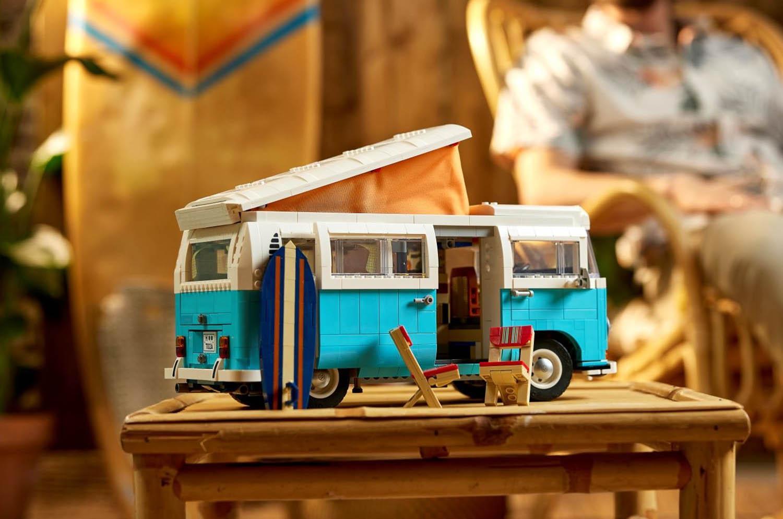 ワーゲンバスがレゴブロックで登場!