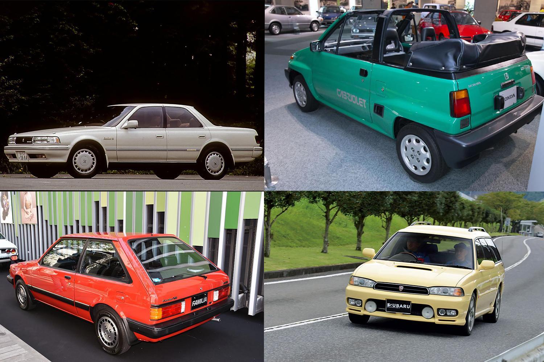 セダンなのに月販4万台! 変わり種車が5年で30万台! 驚異の「瞬間最大風速」を記録した絶版車4台