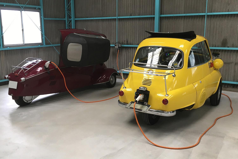 生き残れるなら「電動化」もアリ! いま旧車の「コンバートEV」がジワリ広がり中